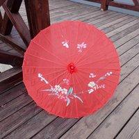 Взрослые Размер Японский Китайский Восточный Зонтик Parasol Handmade Ткань Для Свадьбы Фотографии Оформление Оформление Зонтик Морской корабль OWA9366