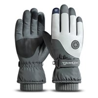 New ski gloves men's and women's autumn winter outdoor touch screen Plush warm riding cold proof antiskid sk16