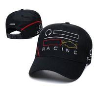 Capuchons de course en équipe F1, casquette de baseball à la mode, chapeau de soleil avec logo brodé,