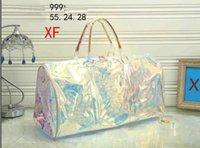 Borse alla moda Tote Borse in PVC Laser Variopinto PRISM 50 BAGAGLI DOMENDE DONNA DONNA Borse da viaggio Borsa trasparente FR5416