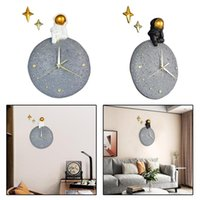 Astronaut Wall Clock Quartz Movement Hanging Watch Home Bedroom Decoration Clocks