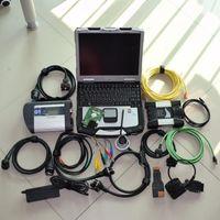أدوات التشخيص MB Star C4 ل ICOM التالي 2in1 HDD 1TB + Laptop Toughbook CF-30 CF30 أداة جاهزة للاستخدام
