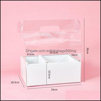 Gift Event Festive Party Supplies Home & Gardengift Wrap Crystal Box Pvc Portable Transparent Flower Packaging Floral Bag Beautif Surprise W