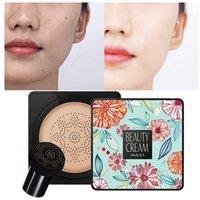BB Air Cushion Foundation Mushroom Head CC Cream Concealer Makeup Cosmetic Waterproof Brighten Face Base Tone 1081