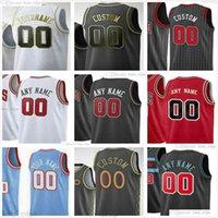 Pantalla personalizada impresa Nikola 9 VIVIVIC ZACH 8 Lavine 0 Coby White Demar 11 Derozan 2 Lonzo Ball Alex 21 Caruso Hombres Mujer Mujeres Jóvenes Jerseys de baloncesto