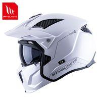 Мотоциклетные шлемы Оригинальные MT Шлем Мужчины Женщины Streetfighter Мотокросс Полное лицо Off-Road Moto Аксессуары Брутт
