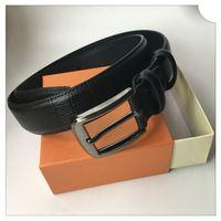 Cinture in vera pelle di alta qualità per gli uomini Designer Donne Belt Belt Fashion God Silver Black Fibbia Box Cintura