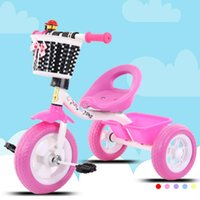 Strollers# Portable Ride On Toys Car Children's Tricycle For Kids Bicycle Bike Three Wheels Stroller Child Baby Trolley Cart Trike