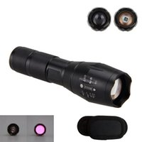Light Regolabile Focus LED Torcia Lungo Throw Laser 940nm Zoomable Linterna Infrarossi Night Hunting Lampe Flashlights Torce