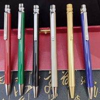 2021 bolígrafos de lujo Concave Lattice Plant Pen Forma-Pen Cap Clip con logo Francés Marca el buen regalo