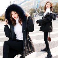 2019 autunno e inverno nuovo piumino bianco anatra bianca giù parka stile coreano womens ispessito cappotto popolare made in China