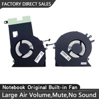 New Replacement Cooling Fans for HP TPN-Q195 17-CE 17-an Series Laptop CPU+GPU Fan One Pair
