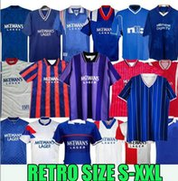 Retro Classic Soserys 1982 83 84 85 86 87 88 89, 1990 91 92 93 94 95 96 97 98 2008 2009 Rangers Home Away 3rd Gascoigne McCoist Football Hemd S-2XL