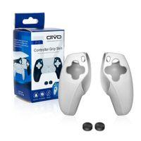 Один набор защитных чехлов для PS5 Ручка GRIP Case + 2 шт. Джойстик Крышка Крышка подходит PlayStation 5