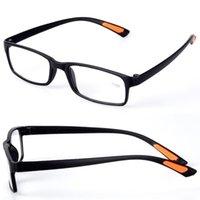 Chic-Harz gerahmt Brillengitter-Hülle mit Gürtel-Clip Klarer Männer Frauen Lesebrille +1.0 1.5 2.0 2.5 3.0 3.5 4.0 Diopter Sonnenbrillen