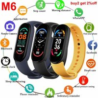 M6 Smart Watch Men Women smart band Bluetooth Smartwatch Heart Rate Fitness Tracking Sports Bracelet For Apple Xiaomi Android