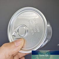 Réutilisable 3.5g Clear peut fumer Accessoires de tabac Food Grade Emballage Étui 100 ml Herbe Sèche Fleur Animal Easy-Open Lift Bague Tab OWC6878
