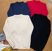 Crew neck pullover designer PRA womens mens loose oversized sweaters Classic cow Pattern Long SleeveK kint Sweater Hoodie printing Sweatshirts Men Women Casual