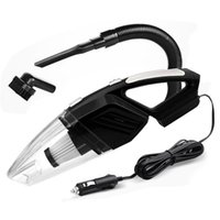 Vacuum Cleaner Car 12V 120W Portable Handheld Wet And Dry Dual-Use 5 Meters Connector Cable With LED Light Multi Dust Collector