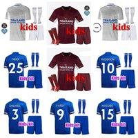 Kinder Kit Tielemans Fussball Jersey Vardy 20 21 Home Away 3. Football Hemd 2021 Camiseta Ndidi Maddison Kinder Trikots MAILTOT DE FUCE Uniform
