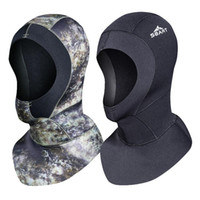 Swim Wear 3mm Scuba Diving Cap Headgear Sports Fishing Mens Waterproof Quick-drying Sunscreen Warm Surfing Snorkeling Mask -40