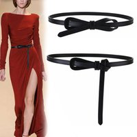 Casual Women Fashion Waistband Soft Leather Suit Dress Decor Belt Classic Knotted Waistbands Slim Durable Belts