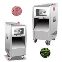 Machine de trancheuse de viande verticale commerciale 2200W de viande de viande de viande de viande de viande de viande de viande de porc Ding Poivre Ding Chili Fabrication de machines
