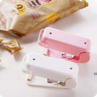 Taşınabilir Mini Mühürleyen Ev Isı Çanta Plastik Gıda Aperatifler Çanta Sızdırmazlık Makinesi Gıda Ambalaj Mutfak Saklama Çantası Klipler DHE9071