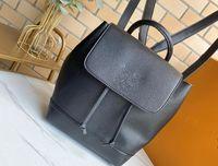 Высококачественные Lockme Рюкзак Мода Датчик Женщины Женщины Сложные Рюкзаки Черный рюкзак Мягкие Натуральные Кожаные Убояшки