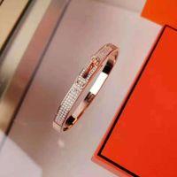 HBP Sky Star Armband Frauen 925 Sterling Silber 18 Karat Rose Gold Kelly Halbkreis Diamant Ring Netz Rot