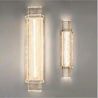 Wall Lamps Modern Crystal Lamp LED Indoor Decor Light Luxury Sconce Mirror Living Room Bedroom Loft Simple Stair