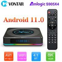2021 Smart TV Box Android 11 X96 X4 Amlogic S905X4 4GB 64GB 32GB Wifi 8K Youtube BT Media Player X96X4 TVBOX Set top box