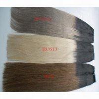 أومبير لون الشريط في الشعر 100٪ ريمي ريمي الشعر البشري 40 قطع 100٪ ريمي ريمي مستقيم البشرة الخفية لحمة بو الشريط على ملحقات الشعر