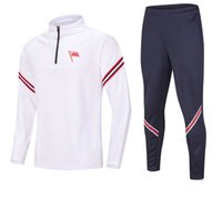 Newest KS Cracovia Soccer Training Men's Tracksuits Jogging Jacket Sets Running Sport Wear Football Home Kits Adult Clothes Hiking Suits