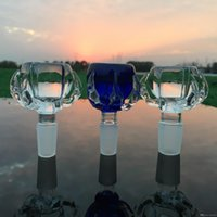 Super Thick Glass Oil Burners Smoking Accessories Cup Glass Bong Oil Rig Bowl 14mm 18mm Male Crystal Oil Banger Nail