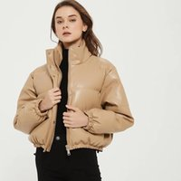 Women's Jackets Europe And The United States Fan Collar With Thick Cotton-padded Clothes WF65110 Single-breasted Cultivate Morality