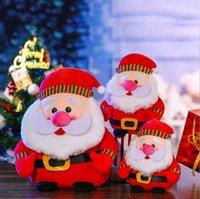 다중 크기 파티 봉제 장난감 수염 난 노인 눈사람 꼭두각시 인형 크리스마스 날 장식 인형 어린이 선물 봉 제 산타