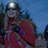 Cappellino a maglia a led a led all'aperto Illuminazione a maglia Cappello caldo con 4 luci Uomini adulti, Dimensioni da donna per la notte Pesca Camping # P15 Cappelli