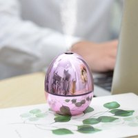 Usb Portable Egg Shape Air Humidifier Wireless Electric Humidifiers Diffuser Cool Mist Maker Night Lamp Purification For Home