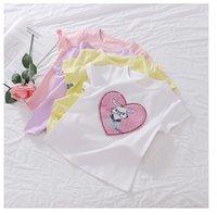 Baby Girls designer Princess T shirt Fashion summer kids flower cartoon short sleeve Tee shorts Sweet Children Bottom Tops S1284