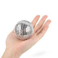 Fitness Balls 2pcs Spiky Magnetic Sensory Acupoints Stirring Yoga