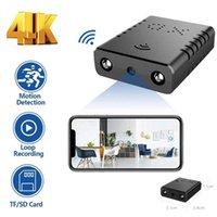 Mini Kameralar 4 K 1080 P Kamera Wifi XD Akıllı Kablosuz Kamera IP Küçük Spor Mikro Döngü Kayıt Uzaktan Monito