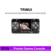 TRIMUI Retro Game Console Ultra-Small Mini Portable Metal Shell Video Game Console Children gifts Game Player G0925