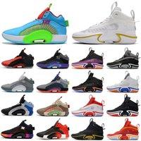 Zapatillas de baloncesto 36 Junts 35 XXXV Bayou Boys Williamson Centro de calzado de Gravedad WIP CHICAGO MORPHO ADN Sisterio 34s 35s 36s Blue Fury Green Spark Purple Tamaño 40-46