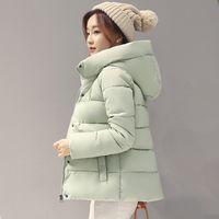 jacket women winter thick coat hooded warm winter female parkas autumn basic coat ZHL5902