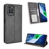 Wallet PU Leather Cases For infinix Note 10 Pro NFC Case Magnetic Protective Book Stand Card Zero 8 Cover