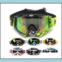 Protective Gear Snow Sports & Outdoors Outdoor Motorcycle Cycling Mx Off-Road Ski Sport Atv Dirt Bike Racing Glasses For Motocross Goggles D