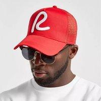 2019 Nuevo Béisbol Reajustado R Bordado Gorra de camionero Casual al aire libre Papá Hats Fashion Sports Caps Hat