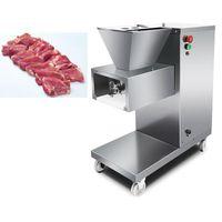 Meat Grinders Vertical Electric Slicer Machine Cutter Commercial Grinder Slicing Shredding Cutting 750W