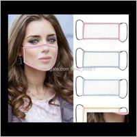 Transparent Lip Mask Anti-Fog Transparent Face Shield Cotton Mask Deaf Mute Designer Masks Visible Anti Dust Mouth Face Cover Pr7Pf F9No4